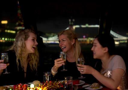 A Christmas Party on the River Thames 2020 with City Cruises, London SE16