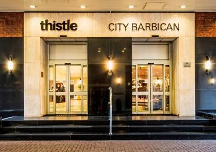 Christmas Parties 2020 at the Thistle City Barbican, London EC1V