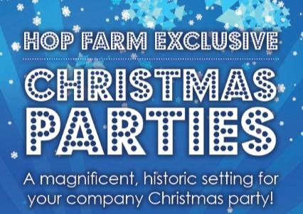 White Christmas Parties 2020 at The Hop Farm, Paddock Wood, Kent