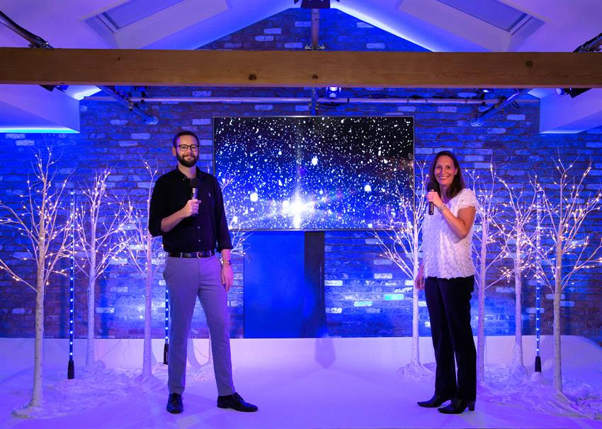 Virtual Christmas Awards Parties live from The Event Loft UK